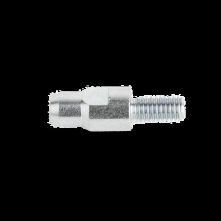 Adapterbolzen Stahl verzinkt, für Kloben, zur Aufnahme der Kloben am Schäumungsrahmen