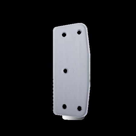 Unterlage Kunststoff, grau, rechts und links verwendbar, Höhe 4 mm