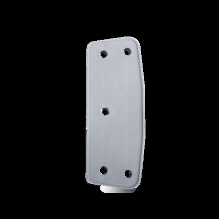 Unterlage Kunststoff, grau, rechts und links verwendbar, Höhe 8 mm