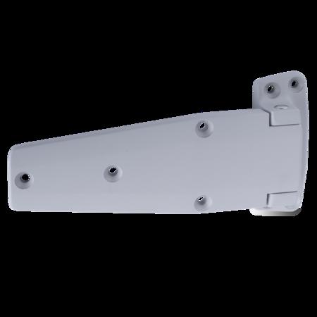 Lappenscharnier Zink-Druckguss, EPS beschichtet grau RAL 7038, rechts und links verwendbar, nicht steigend, 24 mm Überschlag