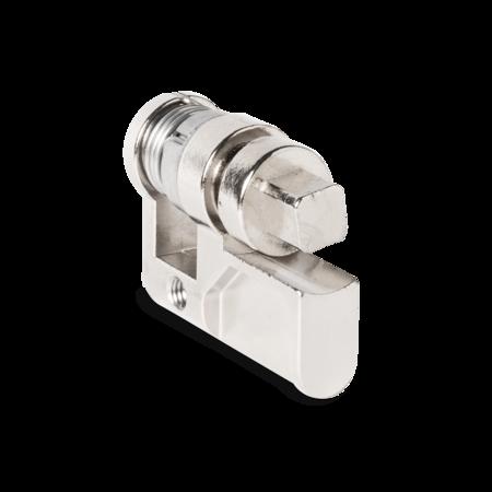 Profilhalbzylinder Vierkant 8 mm A=31/ C=40 mm