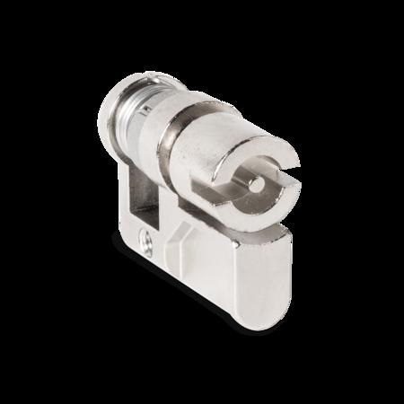 Profilhalbzylinder gefedert Doppelbart 3 mm A=31/ C=40 mm, inkl. Senkkopfschraube M5 x 12 mm