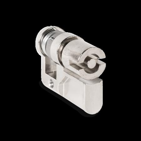 Profilhalbzylinder gefedert Doppelbart 5 mm A=31/ C=40 mm