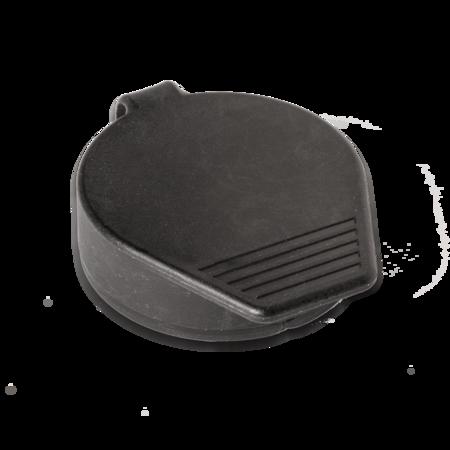 Staubkappe Polyamid PA 6 schwarz Lochbild 21,6 x 24 mm, Ø 37 mm