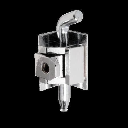 180° Scharnier GD-Zn verchromt für 20 mm Abkantung, Türstärke 1,5 - 2,0 mm Stift Stahl weiß cB verzinkt, ohne Zubehör