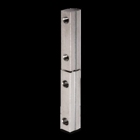 Profilscharnier 95 mm Edelstahl rostfrei mit Schraubbefestigung oben und unten DIN rechts/links verwendbar