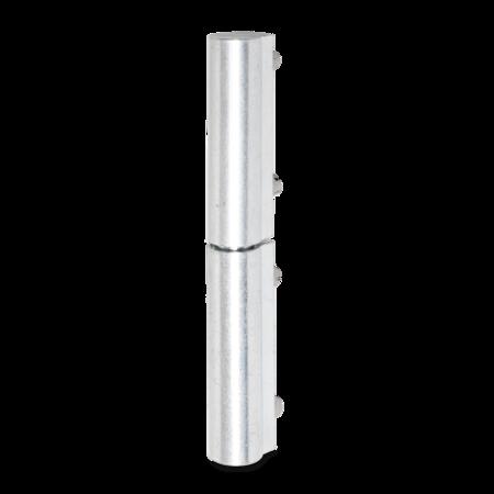 Profilscharnier 95 mm weiß cB verzinkt mit Schweißbefestigung oben und unten DIN rechts/links verwendbar