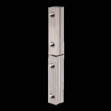 Profilscharnier 95 mm Edelstahl mit Schraubbefestigung M5 x 10 mm DIN 84 incl. Zubehör