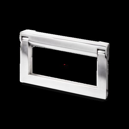 Bügelklappgriff Aluminium poliert 121 mm