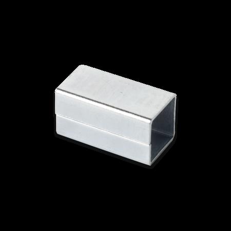 Reduzierhülse, 8 mm auf 7 mm, L= 15 mm