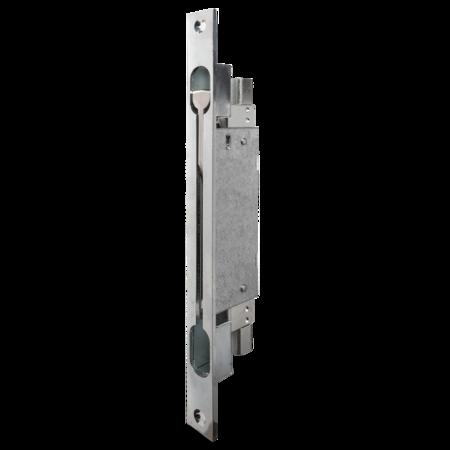 Kantriegel 35 mm, Stahl cB verzinkt, mit Anschraublöchern, Stulp 285 x 22 mm