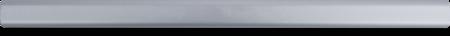 Griffstange Aluminium, EV 1 eloxiert, L = 560 mm, für Schubladenverschlüsse