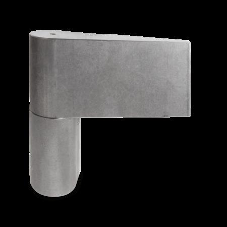 Türband links, 130,5 mm hoch, Stift 25 mm höhenverstellbar