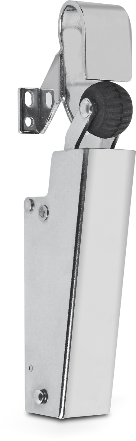 Türdämpfer Edelstahl für Haus-, Zimmer- und Brandschutztüren, Schließgeschwindigkeit regulierbar