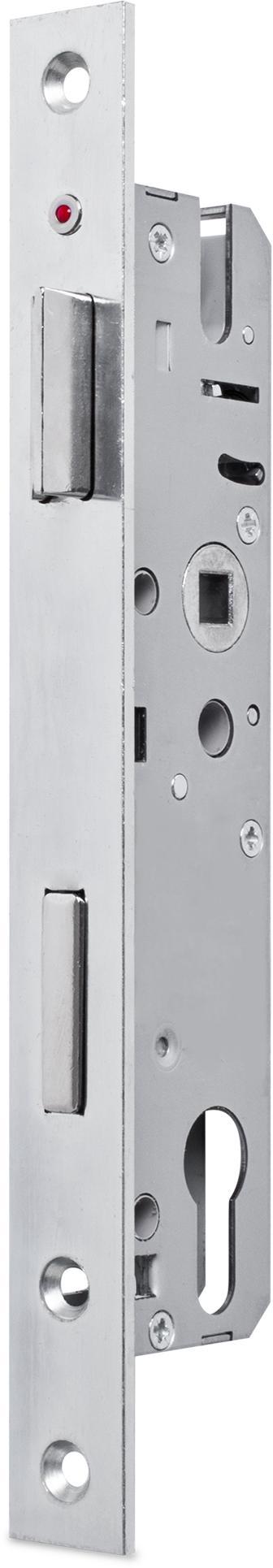 einsteckschloss mit wechsel dornma 30 mm entfernung 92 mm vierkantnuss 8 mm falle und. Black Bedroom Furniture Sets. Home Design Ideas