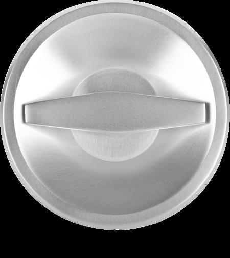 Drehgriff für Aufzugtür, RAL 9006, 8 mm Stift
