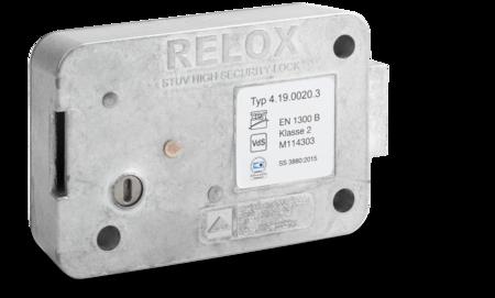 RELOX - Tresorschloss umstellbar VDS Schlossklasse 2 / EN 1300 B, ohne Schlüssel