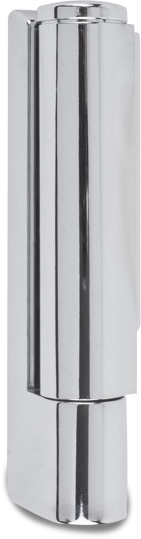 Scharnier, Drehpunkt 17 mm ohne Steigung, mit Kappe