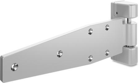 schwerlast lappenscharnier maxiflex edelstahl gesandstrahlt rechts steigend justierbar in 2. Black Bedroom Furniture Sets. Home Design Ideas
