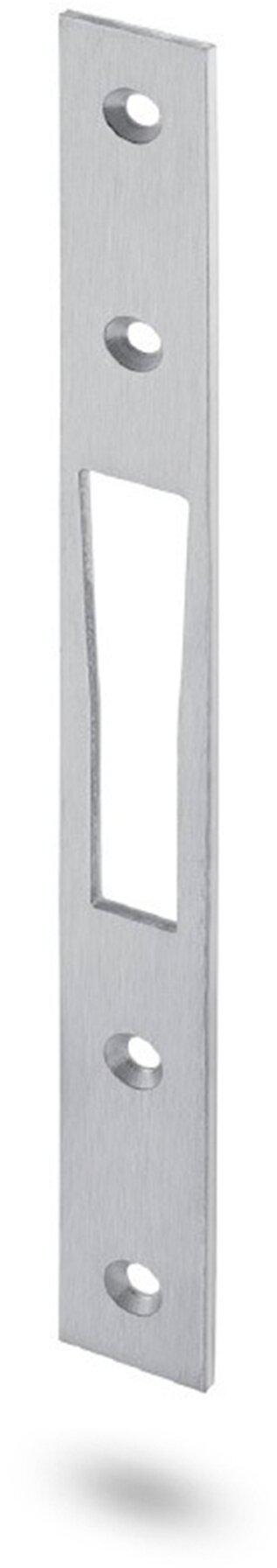 Schließblech Stahl verzinkt 240 x 24 x 3 mm zu Haken-Schwenkriegelschloss