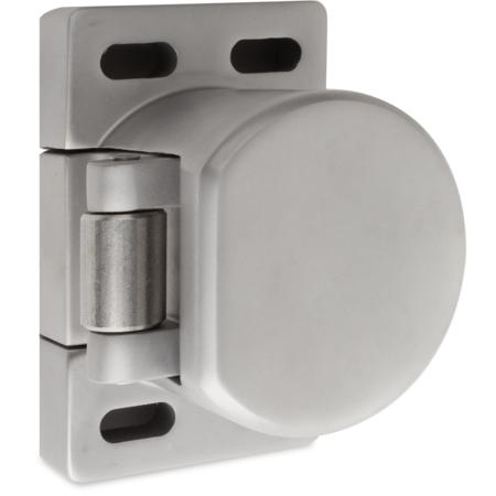 Verschlusselement, aus Edelstahl, mit V²A- Rolle, verstellbarer Anpressdruck