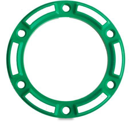 """Unterlage """"Optional"""" Kunststoff PA6, grün, rechts und links verwendbar, Höhe 5 mm"""