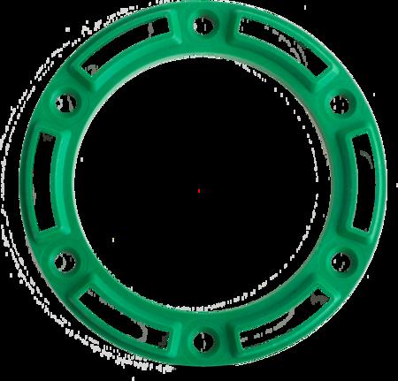 """Unterlage """"Optional"""" Kunststoff PA6, grün, rechts und links verwendbar, Höhe 10 mm"""