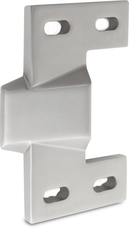 Schließkloben aus Edelstahl für aufliegende Türen