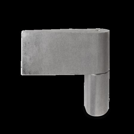 Türband rechts, 100,5 mm hoch, Stift 16 mm höhenverstellbar