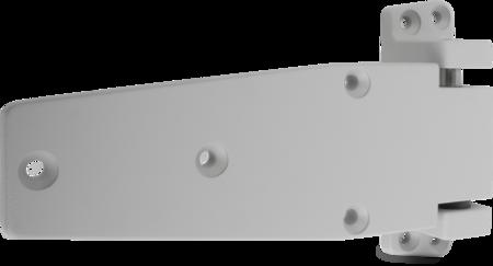 Lappenscharnier Zink-Druckguss, EPS beschichtet grau RAL 7038, rechts, steigend, 32 mm Überschlag