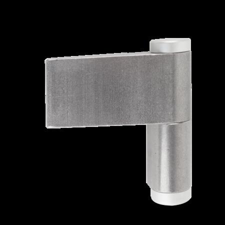 Türband rechts, mit Kabeldurchführung Innendurchmesser 10 mm mit Abdeckkappen - Gesamthöhe 120 mm