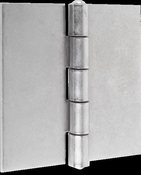 Band m. festem Stift St blank 100 mm Edelstahlstift