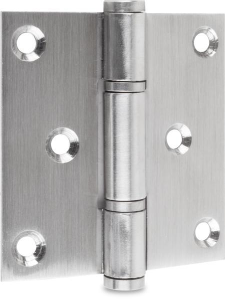 Scharnier Edelstahl 75 x 71 mm mit losem Stift