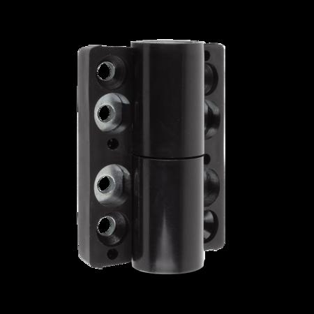 Band Polyamid schwarz, mit festem Stift, Höhe 76 mm, Breite 58 mm, DIN rechts