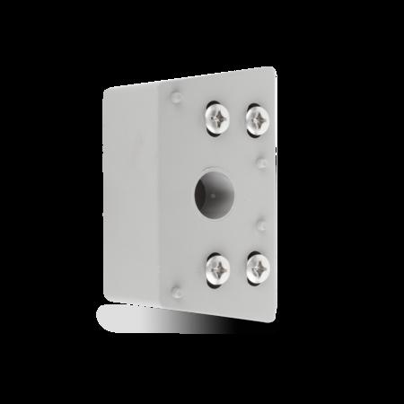 Unterlage Polyamid, grau ähnl. RAL 7037, rechts und links verwendbar, Höhe 40 mm
