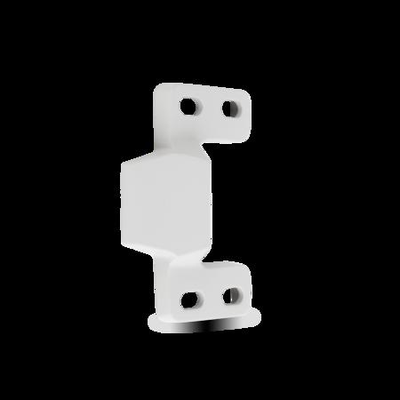 Schließkloben VA Feinguss, rechts und links verwendbar, für aufliegende Türen, einstellbar