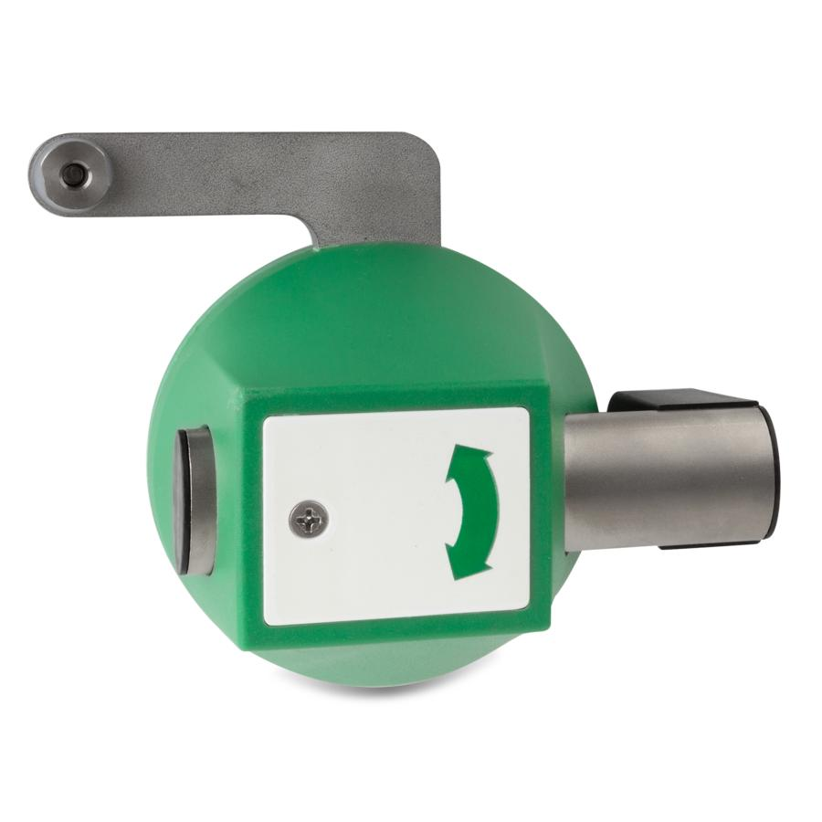 Cam for multiple locking systems housing plastic, traffic green ...