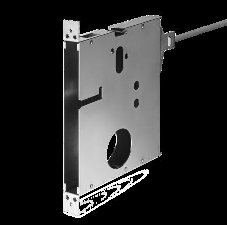 Schlosstasche mit Stecker und Kabel HSL für Beschlag mit 1 Stift für Schloss HSL 104 C / 101 K / 102 K / 105 K 5 Meter Kabel
