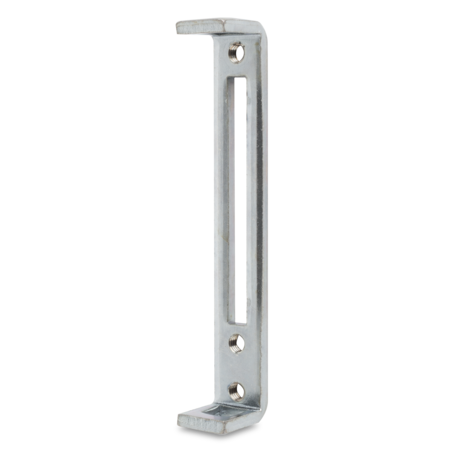 Stangenführung Stahl, verzinkt, rechts und links verwendbar, für Vierkantstangen