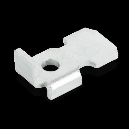 Bodenträger Stahl, verzinkt, rechts und links verwendbar, für Stellleisten